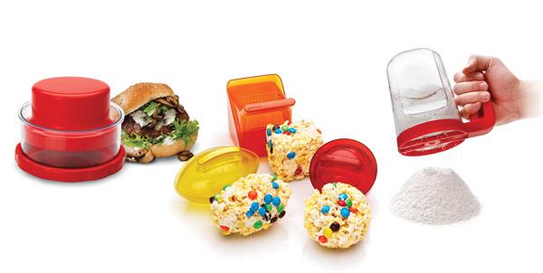 Good Cook - burger press-popcorn baller - flour sifter