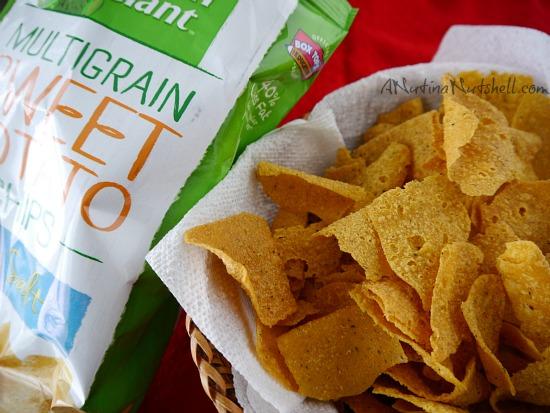 Green Giant Multigrain Sweet Potato Chips with Sea Salt