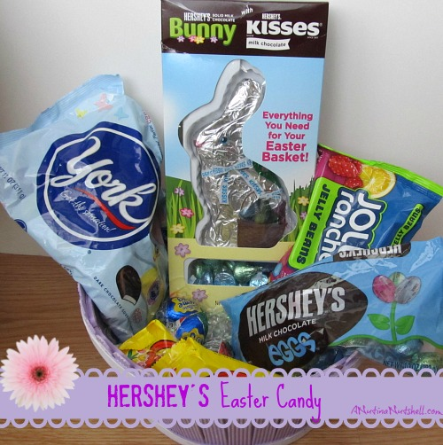 Hershey's Easter Candy basket
