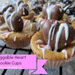 Huggable Heart Cookie Cups with Nestle's Valentine's Day Candy
