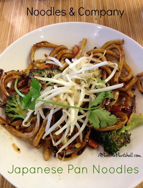 Japanese Pan Noodles - Noodles & Company
