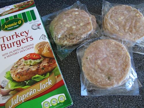 Jennie-O Jalapeno Jack Turkey Burgers