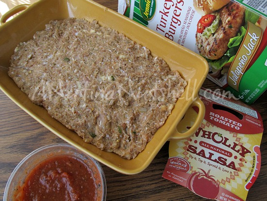 Jennie-O Jalapeno Turkey Burgers - Wholly Salsa - recipe