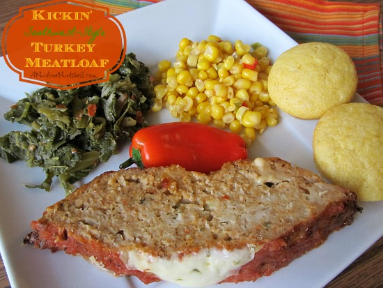 Kickin' Southwest-style Turkey Meatloaf  recipe