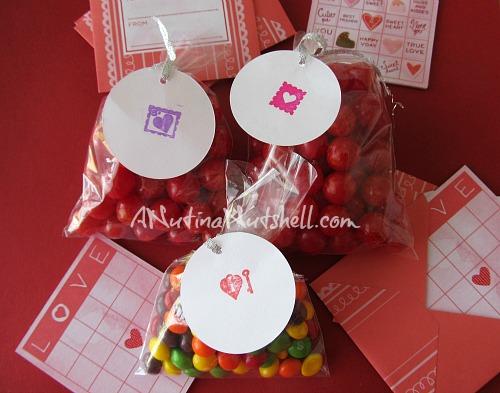Martha Stewart Crafts valentine goodie bags