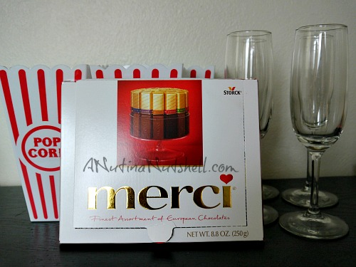 Merci chocolate prize pack