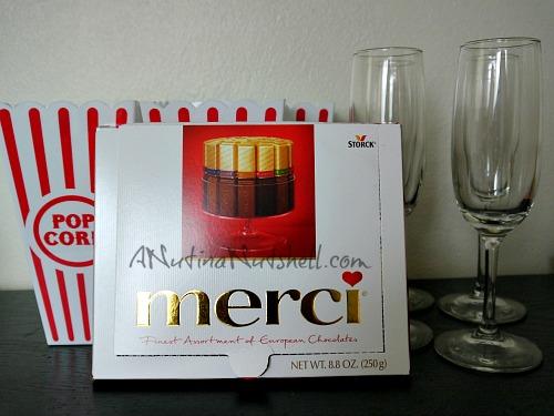 Merci chocolate prize pack