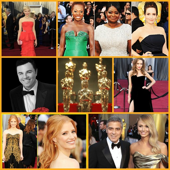 Oscars 2012 collage