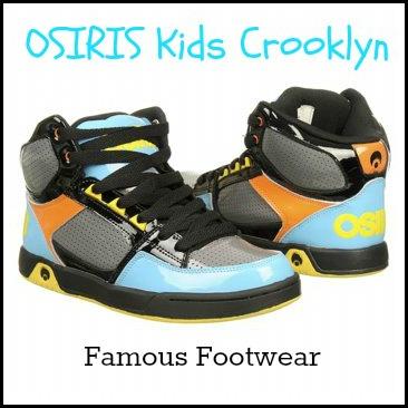 Osiris Crooklyn kids sneakers- Famous Footwear