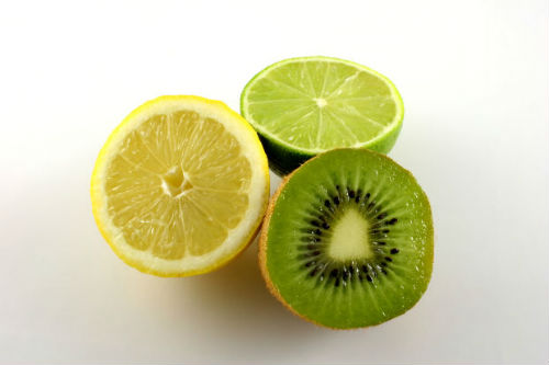 kiwi - lemon - lime