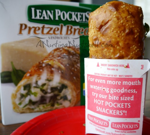 lean pockets pretzel bread