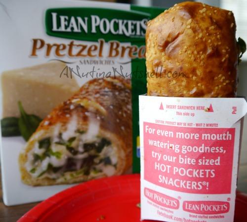 lean pockets pretzel bread