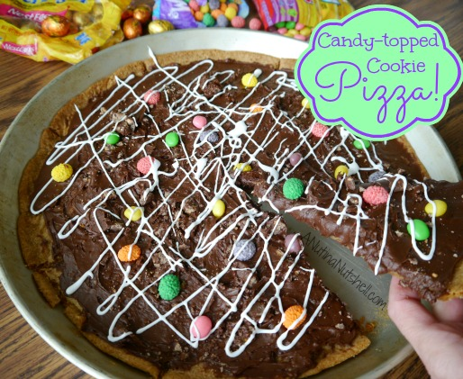 Candy_topped Cookie Pizza