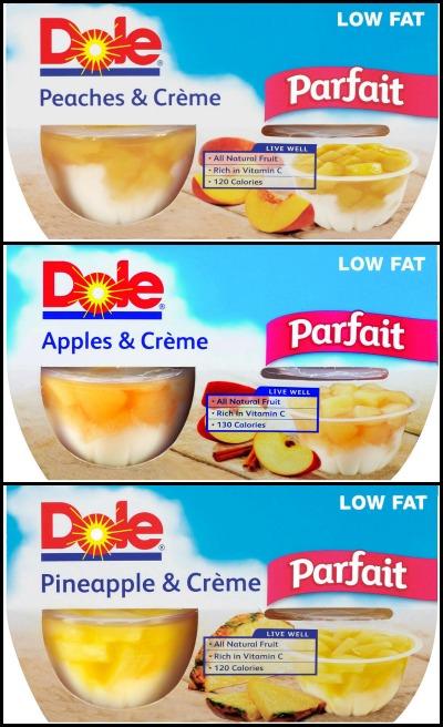DOLE Fruit Parfaits