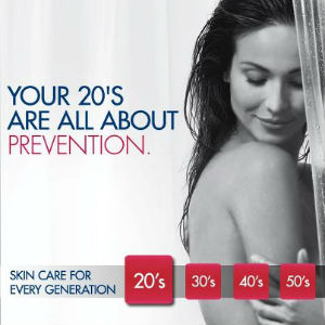 Eucerin Skin care in your 20's
