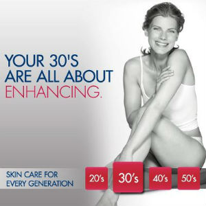 Eucerin skin care in your 30's