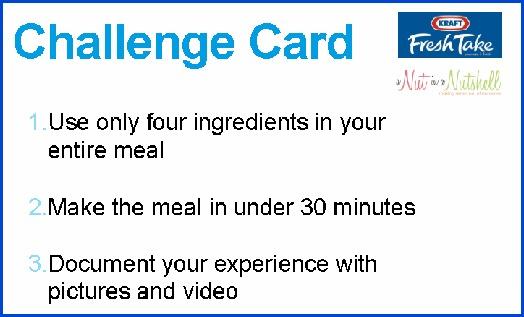 Kraft Fresh Take Challenge Card 2