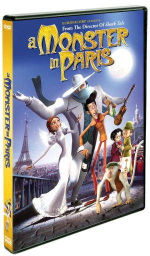 A Monster in Paris DVD cover art