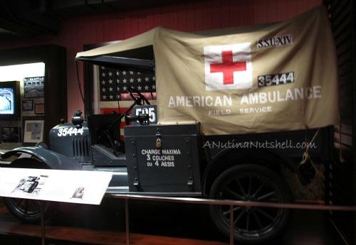 American Ambulance Walt Disney Family Museum