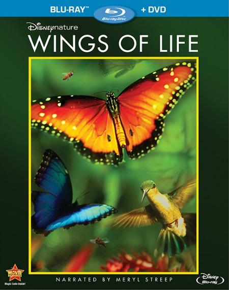 Disneynature Wings of Life Blu-ray DVD