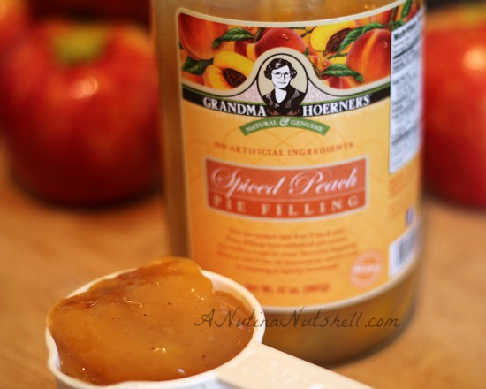 Oven-Roasted Apples with Cinnamon Spiced Peach Filling - Lizventures