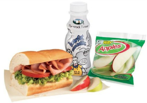 Subway FRESH FIT Kids Meal