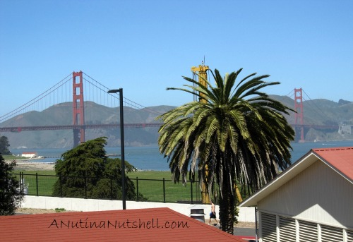 Walt Disney Family Museum view of Golden Gate Bridge