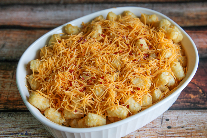 casserole with tater tots