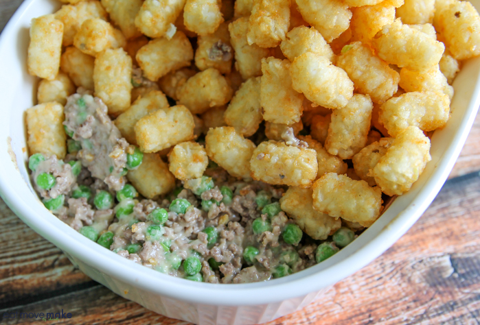 tater tots and casserole