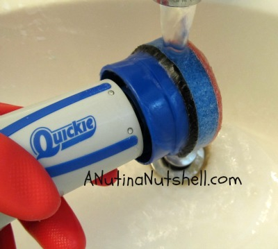 rinse to clean Quickie