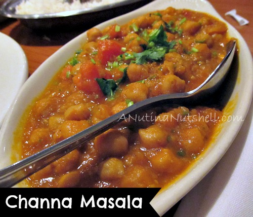 Channa Masala Dale's Indian Restaurant