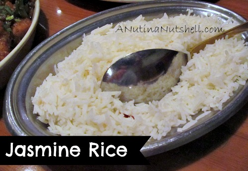 Jasmine rice Dale's Indian cuisine