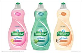 Palmolive Soft Touch dishwashing liquid
