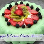 Pineapple & Cream Cheese JELL-O Fruit Dessert