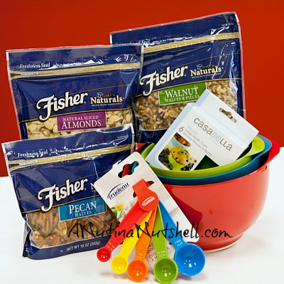 Fisher Nuts Spring prize pack