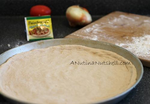 Fleischmann's Pizza yeast pizza crust