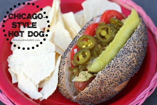 Hebrew National Chicago-Style Hot Dog