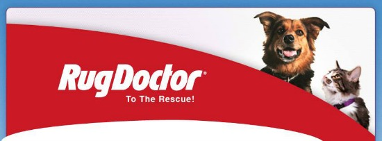 Rug Doctor to the Rescue - ASPCA partnership
