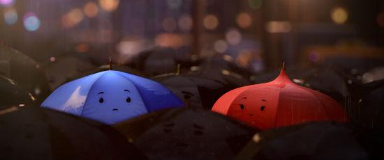 The Blue Umbrella still