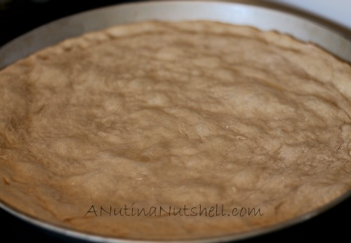 baked pizza crust