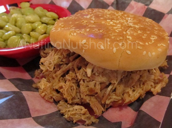 BBQ Pulled Pork sandwich King's BBQ