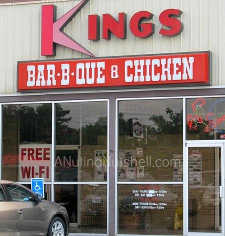Kings BBQ restaurant - Kinston NC