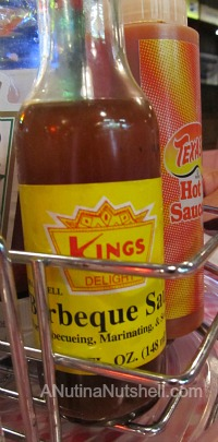King's Barbeque Sauce - King's restaurant