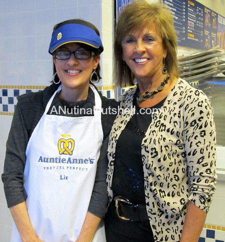 Me with Anne Beiler (Auntie Anne)