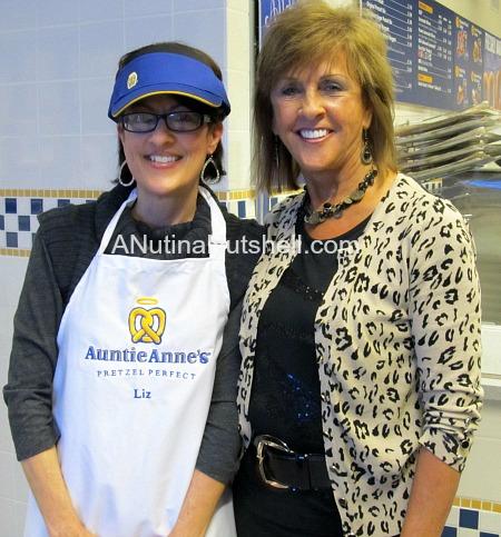 Me with Anne Beiler (Auntie Anne)