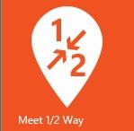 Meet Half Way app logo