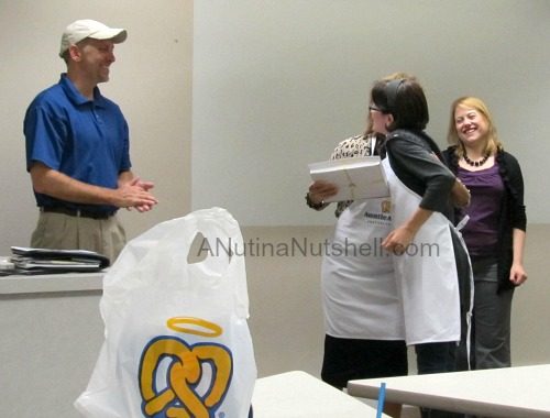 Pretzel University graduation - Auntie Anne's