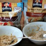 Quaker Perfect Portions Multiserve Instant Oatmeal + Giveaway