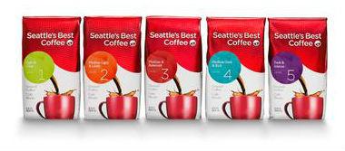 Seattle's Best Coffee levels