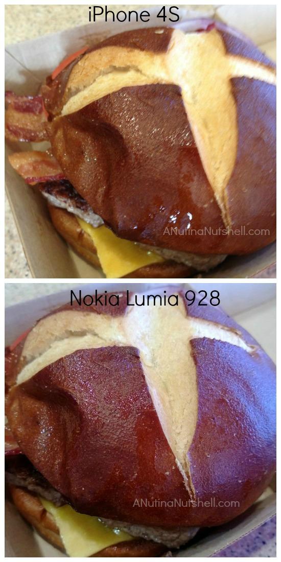 sandwich-camera comparison iPhone vs Nokia Lumia 928